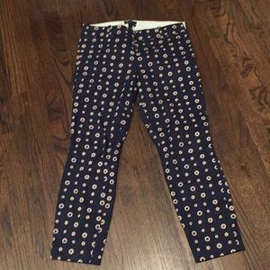 J, crew ankle pants Minnie size 4